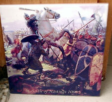 Battle of Hastings 1066 Norman Invasion of England Tribute CERAMIC TILE