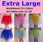 【Extra Large】Womens Ballet Tutu Waistband 72-118cm Dancing Skirt Costume CS01/XL