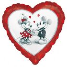 """DISNEY MICKEY MOUSE & MINNIE MOUSE IN LOVE - 18"""" FOIL BALLOON!"""