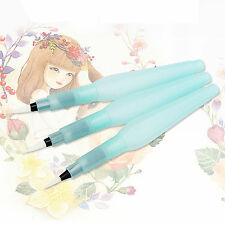 3pcs Water Brush Pen Art Crafts Tool for Watercolor Painting Calligraphy Ink