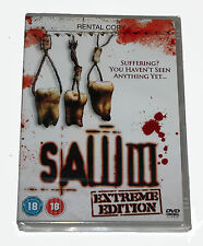 Saw III - Extreme edition -  DVD -  NEW WITH SEALED BOX