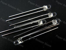 100pcs 3mm PhotoDiode Round-Head LED Photo Light Diode