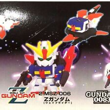 Gundam SD Zeta Z MAGNET ROBO by Banpresto Transforms to Wave Rider!  NEW SEALED
