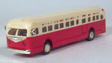 APM American Precision Models 1:87 Red 1950 GM TD 4510 4511 Transit Bus Coach