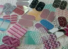 Jamberry Nail Pedicure 50 Packs 100 Wraps Pieces Assorted Mixed Lot New For Toes