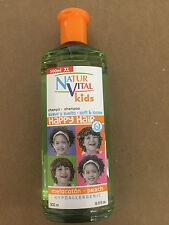 NATUR VITAL HAPPY HAIR KIDS SHAMPOO PEACH 500 ML HYPOALLERGENIC