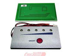 LED Capacity/Voltage tester indicator for 12V Lead-Acid battery 0%-100% light on