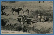 CPA: MISSOUR (Maroc) - Corvée d'eau à la source / 1926