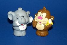 Little Tikes Monkey Banana Elephant Figurines Zoo Train parts