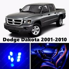 11pcs LED Blue Light Interior Package Kit for Dodge Dakota 2001-2010