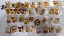 VINTAGE OLYMPIC COCA COLA PINS, DIFFERENT LOCATIONS, DIFFERENT SPORTS