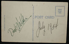 Doak Walker Signed Postcard - 1953