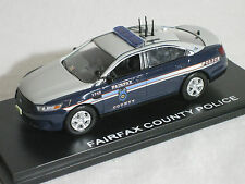 First Response 1/43 Fairfax VA County Police Ford PI Sedan PREMIER ISSUE CAR!