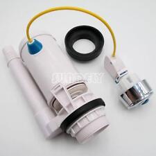 Toilet Push Button Adjustable Dual Flush Cistern Syphon Drop Valve  Cistern