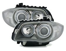 FEUX PHARES AV ANGEL EYES BMW SERIE 1 E81 E87 116i 118i 120i 130i 118d 120d 123