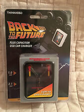 Back to the Future Flux Capacitor USB Car Charger by ThinkGeek - Brand New