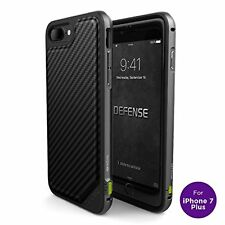 Apple iPhone 7 Plus Case Military Drop Tested TPU Aluminum Cover Carbon Fiber
