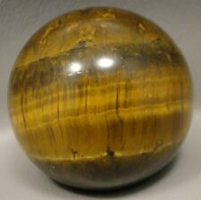 Tigereye 2 inch Stone Sphere Tiger's Eye Gemstone 50 mm Ball #5