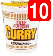 New!! Japanese NISSIN Cup Noodle Curry x10 Japanese Instant Ramen Soup Japan