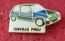 BEAU PIN'S VOITURE RENAULT SUPER GT TURBO POINT S TERVILLE PNEU