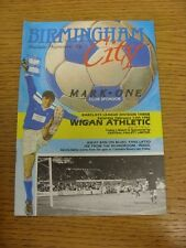 17/02/1990 Birmingham City v Wigan Athletic  (Crease). Trusted sellers on ebay b