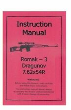 AK Romak 3 Dragunov 7.62x54R Sniper Rifle Manual R