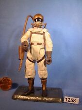 Star Wars 2006 FIRESTARTER PILOT, TSC 3.75 inch Figure COMPLETE with Stand
