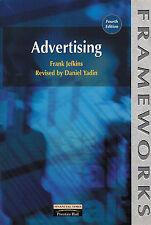 Advertising (Frameworks Series), Yadin, Daniel, Jefkins, Frank, Good, Paperback