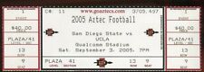 Ticket College Football San Diego State 2005 9/3 UCLA