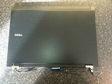 "Dell Latitude E6500 15.4"" LCD Back Top Cover Lid with Hinges G433D XX187"
