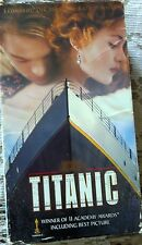 "VHS movie ""TITANIC"" LEONARDO DE CAPRIO"