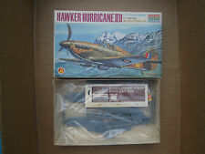 1/72 scale Hawker Hurricane II D  Vintage Aoshima Model Kit