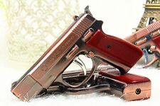 Novel Windproof Lighter Light Butane Refillable M75 Pistol Model Gun Shaped
