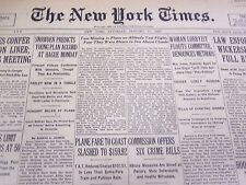 1930 JANUARY 11 NEW YORK TIMES - MARRA MISSING IN TEST FLIGHT - NT 4191