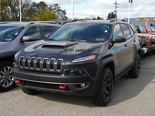 Jeep Cherokee/Trailhawk Hood Scoop 2014 2015 PRE PAINTED HS003