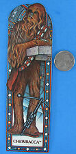 BOOKMARK - CHEWBACCA -  Matte Finish '83 vtg Star Wars