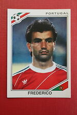 Panini MEXICO 86 N. 387 PORTUGAL FREDERICO With back GOOD CONDITION!!