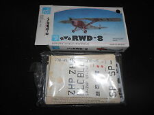 PZW MK020, 1/72 SCALE RWD-8 PLASTIC MODEL KIT
