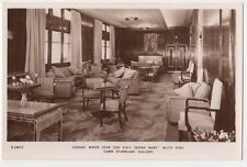 RMS Queen Mary, Cabin Starboard Gallery RP Postcard, B584