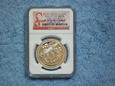 "2013 P Year of the Snake 1/2 oz NGC PF70 ""Early Release"" Pop 29 From 3 Coin Set"