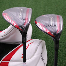TaylorMade Golf AeroBurner BLACK 3&5 Fairway Wood 2pc SET Graphite Stiff - NEW