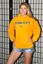Arizona State Hoodie hooded sweatshirt - Yellow - Medium
