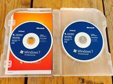 Microsoft Windows 7 Professional Upgrade, Englisch mit MwSt Rechnung