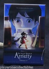 "The Secret World of Arrietty Movie Poster 2"" X 3"" Fridge Magnet. Japanese Anime"