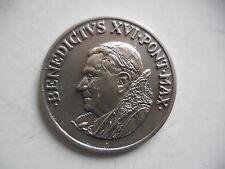 Vaticano medaglia per la visita di Benedetto XVI a Brindisi 2008
