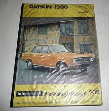 Classic Car Datsun 1200  Maintenance  Workshop Repair Manual Book