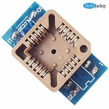 PLCC20 to DIP 20 Pins 1.27mm Pitch EZ Programmer Adapter NoxTlon Burn-in Socket