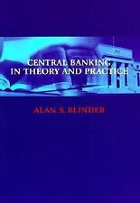 Central Banking in Theory and Practice by Alan S. Blinder