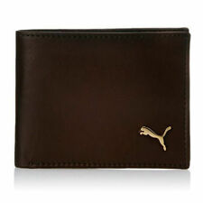 Puma Men Brown Genuine Leather Wallet (4 Card Slots)