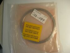 Unaxis Balzers Pump Notched Flange, P006034, New, Sealed for Cleanroom